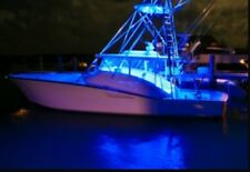 8 Pcs Blue LED Boat Light Deck Waterproof 12v Courtesy Bow Trailer Pontoon Bass