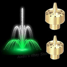 "3/4"" DN20 Brass Column Style Fireworks Fountain Nozzle Sprinkler Sprink Head"