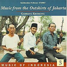 Music of Indonesia, Vol. 3: The Outskirts of Jakarta by Various Artists (CD,...