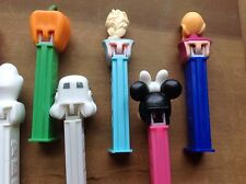 PEZ Lot of 10 Dispensers Star Wars Holidays Halloween Disney