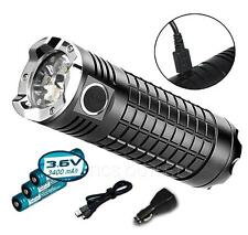 Olight SR Mini II Intimidator 3200 Lumen Rechargeable LED Flashlight w/ 3x 18650