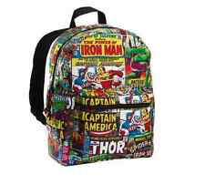 MARVEL COMICS BACKPACK NEW School Bag Urban Fashion 16""