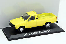 Dacia 1304 Pick-Up gelb 1:43 Altaya