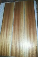 QLD MAPLE.3 X Ribbon Figured Stock Boards.Resaw,Cabinet,Panels,Tops,Sides,Fronts