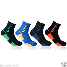 Bonjour Mens Cushioned Sports Socks Pack of 4 Pairs_ BRO27010-PO4