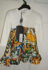Dolce & Gabbana Combined Colour Dress, NWT Retail$625 6/9 months