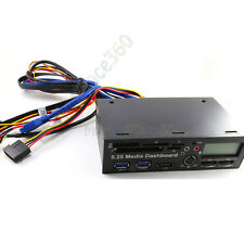 5.25 Inch USB 3.0 PC Front Panel Media Dashboard Card Reader HUB SATA