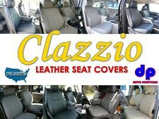 05-08 Toyota Tacoma Access Clazzio Leather Seat Covers-Gray-Full Set