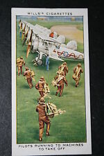 Gloster Gauntlet  RAF Fighter Squadron Scramble    1930's Vintage Card VGC