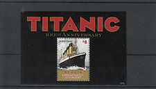 Bequia Grenadines St Vincent 2013 MNH Titanic 100th Anniv Sinking 1v S/S RMS