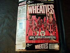 91-92 Back to Back  NBA Champions wheaties box Chicago Bulls