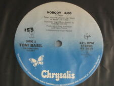 "Toni Basil. Nobody/Rock On. 33 lp 12"" Single. 1981. Promotional Record."