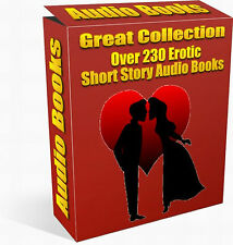Great Collection - Over 230 EROTIC SEXY Short Story AUDIO BOOKS on DVD Rom