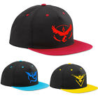 Pokemon Go Baseball Hat Team Mystic InstInct Valor Embroider Cap Cosplay Hat