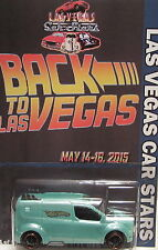Hot Wheels CUSTOM FORD TRANSIT CONNECT 2015 LAS VEGAS CAR STARS Limited Edition