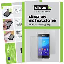 6x Sony Xperia M5 Schutzfolie matt Displayschutzfolie Folie dipos