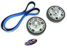 GATES TIMING BELT & RACING CAM GEAR MITSUBISHI 03-06 EVO / 90-99 ECLIPSE SILVER