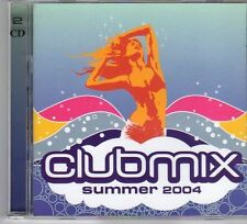 (DX312) Clubmix, Summer 2004, 40 tracks various artists - 2004 double CD