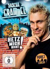 2 DVDs * SASCHA GRAMMEL - HETZ MICH NICHT -  INKL. BONUS DVD # NEU OVP !