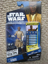 StarWars CloneWars MACE WINDU Jedi Master (CW#20) Very Hard to Find!