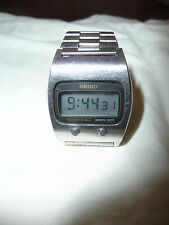 Seiko Vintage 0439-5009 Men's LCD Watch -- Functional and 100% Original