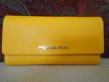 MICHAEL Michael Kors Jet Set Travel Checkbook Wallet - SUN
