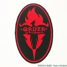 "HARRY POTTER ""THE ORDER OF THE PHOENIX"" Member's Embroidered Patch!"