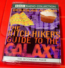 Douglas Adams Hitch-Hiker's Guide To The Galaxy Secondar Phase BBC 2-Tape Audio