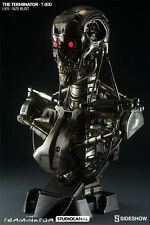 Terminator T-800 Life Size Bust by Sideshow Free UK EU Shipping - Flex Pay BNIB