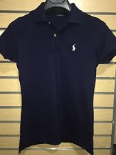 Ralph Lauren Women The Skinny Polo T Shirt Size L