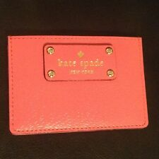 kate spade New York Authentic Graham Wellesley Caberet Pink Card Case  NWT