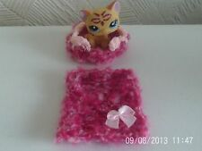 Accesorios para Littlest Pet Shop Cat Lps Manta para cama y no Incluido