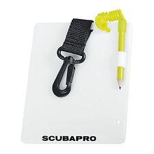 Scubapro Unterwasser-Schreibtafel mit Bleistift