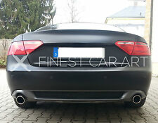 Wabengitter Look. Diffusor Stoßstange ohne S-line Für Audi Coupe Cabrio A5 8T B8