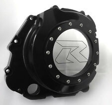 01-08 GSXR 1000 01-05 GSXR 600/750 Custom Black See Through Clear Clutch Cover!
