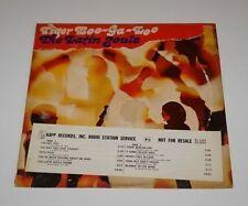LATIN SOULS Tiger Boo-Ga-Loo PROMOTIONAL 1968 Pucho Brown LP Vinyl Record