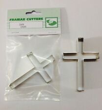 Cake Decorating Metal 268A Cross by Framar Cutters