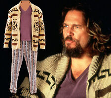 NWT Pendleton Westerly Big Lebowski  Fest  Sweater Cardigan Dude  XL Wool Tan