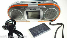 SPARE BATTERY ONLY for the Degen D23 Radio Rechargeable AM FM SW MP3 Player