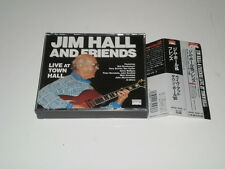 JIM HALL AND FRIENDS - LIVE AT TOWN HALL - RARE JAPAN BOX 2 CD W/OBI - 1991 -