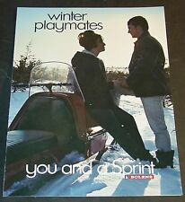 VINTAGE BOLENS SPRINT SNOWMOBILE SALES BROCHURE 5 PAGES VERY NICE  (773)