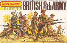 Matchbox #P-5005 - 1/76 WWII British 8th army - mint in sealed box