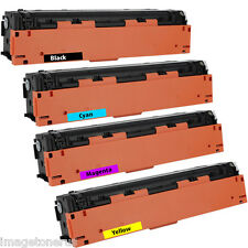 4 Pack Toner Set for HP Color LaserJet Pro M252dw M252n MFP M277dw M277n *KCMY*