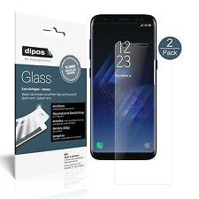 2x Samsung Galaxy S8 Plus Pellicola Protettiva Protezione opaco Vetro Flessibile