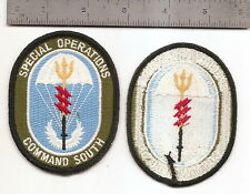 #157  US ARMY  SPECIAL OPERATIONS COMMAND SOUTH PATCH