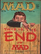 Mad Magazine No.46 April 1959 Appears to be complete VG 112415DBE