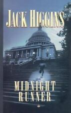 Sean Dillon: Midnight Runner by Jack Higgins (2002, Hardcover, Large Type)
