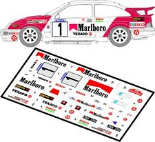 DECALS 1/43 FORD SIERRA RS COSWORTH  #1 - BUBLEWICZ - RALLYE ELMOT 1992 - D43004