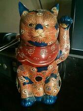 Kutani Yaki Lucky Cat