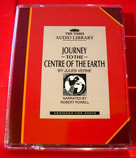 Jules Verne Journey To The Centre Of The Earth 2-Tape Audio Book Robert Powell